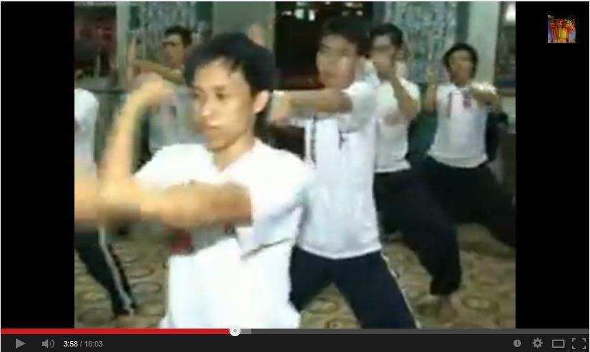 Khổ luyện cùng Thái Lý Phật