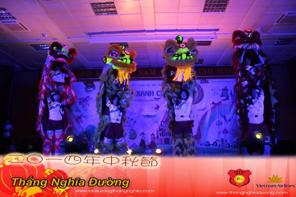 Múa Trung Thu Tại Vietnam Airlines