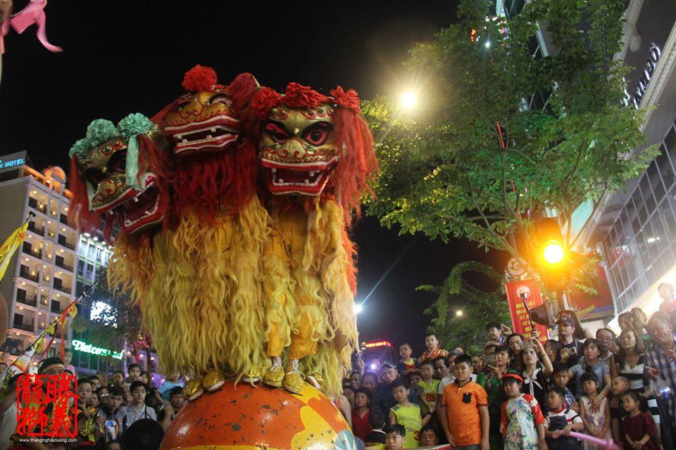 Tam Sư Tranh Hùng 2017- Thắng Nghĩa Đường - SingYi LionDance