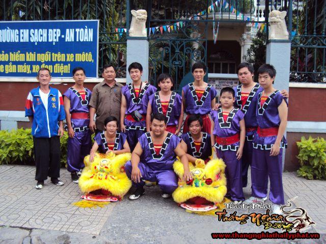 Khai giảng trường Mạch Kiếm Hùng