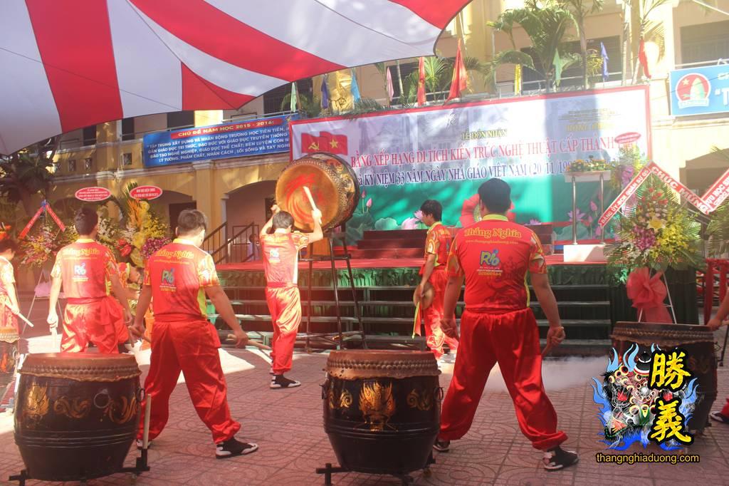 Ngày nhà giáo Việt Nam 20/11/2015 tại trường Hồng Bàng Q.5